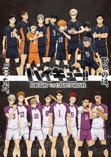 Haikyuu!! Saison 3 - Karasuno Koukou VS Shiratorizawa Gakuen Kouko
